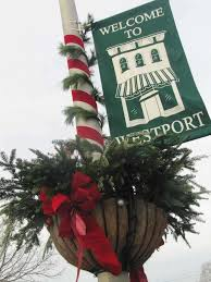 downtown westport decked out for the holidays westport news
