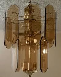 Flat Chandelier Mazzega 1970s Glass Panel Chandelier Imc24c Oly Muriel Table Lamp