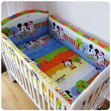 Mickey Mouse Baby Bedding Mini Mouse Crib Bumpers Chinese Goods Catalog Chinaprices Net