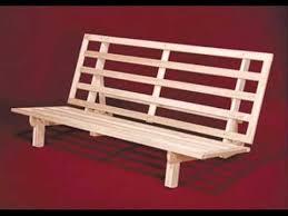 bi fold hardwood futon frame full size futon wooden frame full