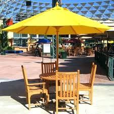 Umbrella Patio Sets Outdoor Patio Dining Sets With Umbrella Stgrupp