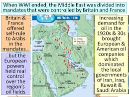 middle east map changes topic decolonization of the middle east essential question