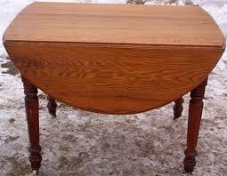 Drop Leaf Oak Table Drop Leaf Oak Table Estate Furniture Dyer39s Auction Service