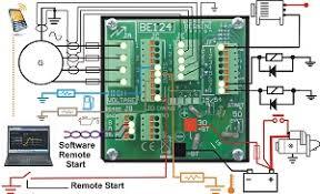 generator auto start circuit diagram u2013 genset controller