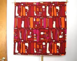 Mid Century Modern Fabric Reproductions Mid Century Fabric Etsy