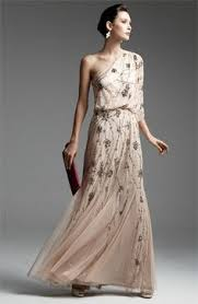adrianna papell s illusion lace halter gown is a beautiful