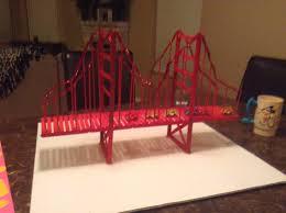 golden gate bridge diy made of popsicle sticks stuff