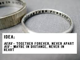 wedding quotes engraving best 25 engraved promise rings ideas on personalized