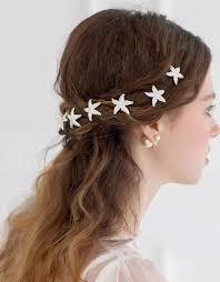 hair accessories online online shop 6pcs lot rhinestone wedding hairpins starfish hair