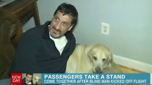 Blind Dog And His Guide Dog Blind Man Dog Kicked Off Us Airways Flight Passengers Follow Cnn
