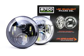 Led Light Bulbs For Headlights by Jw Speaker 8700 Evolution Evo J Headlights Complete Housings