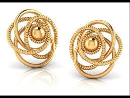 ear studs designs gold ear studs designs http thehandmadecrafts