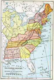 map of colonies map us colonies 1776 maps of usa