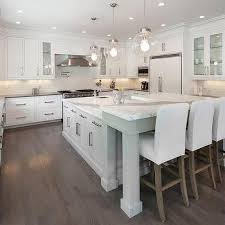 Kitchen With L Shaped Island Kitchen Island With L Shaped Breakfast Bar Design Ideas