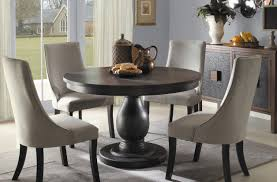 dining unique design round dining table with leaf amazing chic