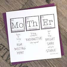 birthday card ideas for mom printable mother s day card greetings card periodic table for