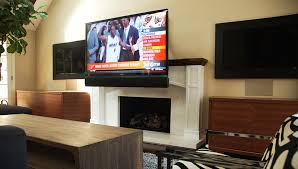 Tv Mount Over Fireplace by High End Interior Design Television Mount Over Fireplace