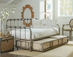 bedroom outstanding twin metal trundle for daybed kids loft