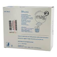 magnesio supremo composizione mag 2 polvere per soluzione orale 2 25g 20 bustine