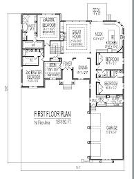 one room house floor plans single story 5 bedroom floor plans astounding x shaped house plans