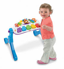 baby standing table toy amazon com fisher price laugh learn learn move music station