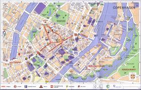 Copenhagen Map Scandinavia Index