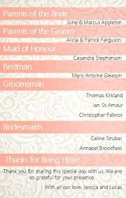 Wedding Program Fans Wording Wedding Program Examples Outside The Box Wedding