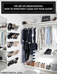 weekend decorating idea clean out your closet u2014 the decorista