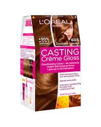 loreal hair color chart ginger casting crème gloss chocolate caramel hair dye l oréal paris