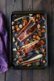 How Long To Roast Root Vegetables In Oven - salmon and root vegetable sheet pan dinner the roasted root