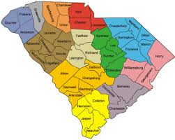 county map of sc pickens county sc sends message no refugees for us thank you