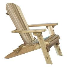Free Wooden Outdoor Chair Plans by Weathercraft Designers Choice Pine Adirondack Chair Natural