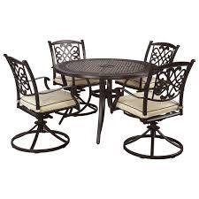 signature design by burnella 5 piece outdoor dining set