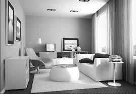 Apartment Awesome Decoration In Living Room Apartment With White by Excellent Studio Apartment Decorating Ideas With Grey Furry Rug
