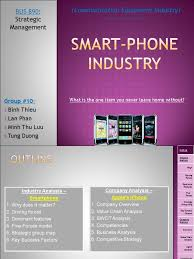 Strategic Group Map Smartphone Industry And Apple U0027s Iphone Analysis Docshare Tips