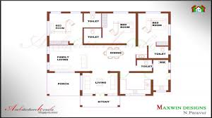 2 Bhk House Plan Simple 2 Bedroom House Plans Kerala Style Memsaheb Net