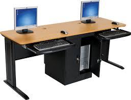 metal desk with laminate top excellent workstation computer desk teak laminate top black laminate