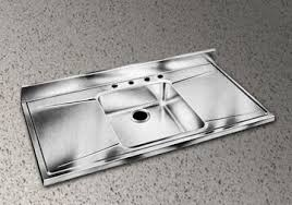 stainless steel countertop with sink stainless steel sink counter drainboard combo s are classic 40s