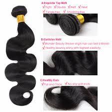 Pure Virgin Hair Extensions by Peerless Brazilian Virgin Hair Body Wave 4bundles Deal Human