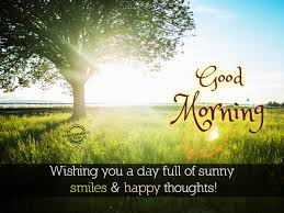 wishing you a day of smiles and happy thoughts