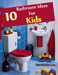 ten amazing bathroom ideas for kids which they will love