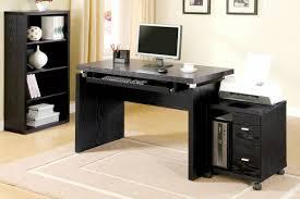 dark wood computer desk black wood computer desk home office furniture collections check
