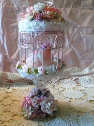 Shabby Chic Bird Cages by 118 Best Pink Bird Cage Images On Pinterest Birdcage Decor Bird