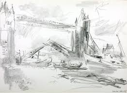 tower bridge ii u0027 oskar kokoschka 1967 tate