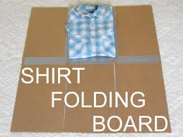 Diy clothes folding board make