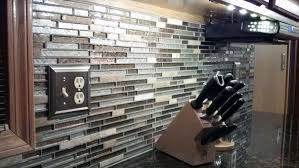 Mosaic Tile Backsplash Kitchen - Stone glass mosaic tile backsplash