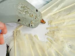 halloween angel wings how to make feathered angel or fairy wings hgtv