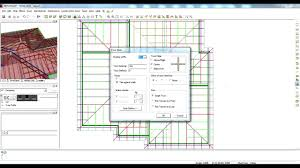 designing a simple hipped roof on mitek 20 20 software youtube
