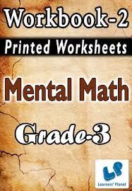 grade 3 mental math workbook 2 printed book interactive books