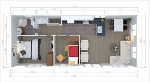2 Bedroom Tiny House by 2 Or 3 Brm Tiny Home 12x5m Unit2go Transportable Cabins Nz Wide